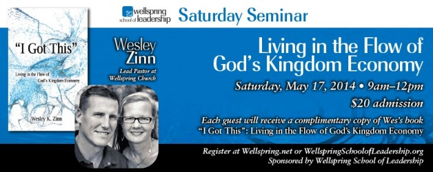 Living In the Flow of God's Kingdom Seminar